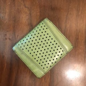Handbags - Green leather wallet
